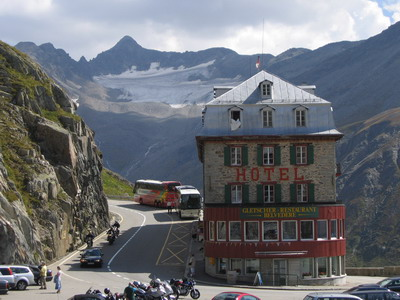 gletscher hotel belvedere